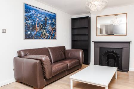 Chic & Modern 1BD Flat in Fulham Broadway - Huoneisto