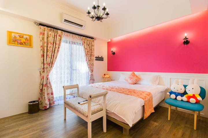 Warm Double Superior Room King bed - Wujie Township - Oda + Kahvaltı