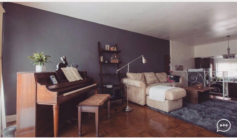 Chill Private Bedroom 3-mins to Santa Monica Beach