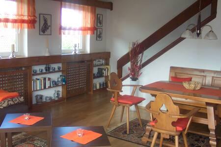 Gemütliche Ferienwohnung mit Bergblick - Grabenstätt - Apartament