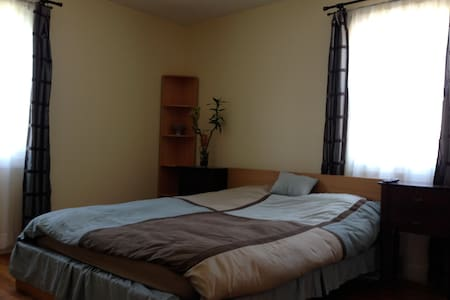 1 Private room, 5 min to the beach. - Long Branch - Talo