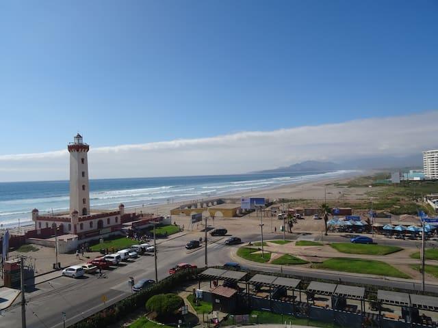 Departamento 722 El Faro wifi/ tv cable/ vista Mar