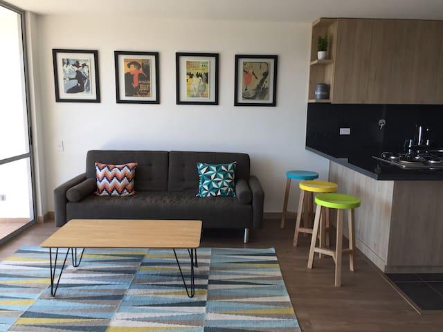 Encantador apartamento 2 alcobas - Rionegro - Rionegro - Apartamento