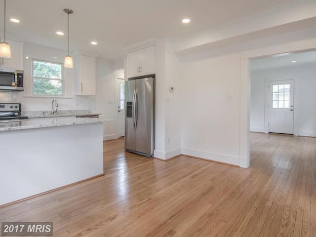 basement with private bathroom