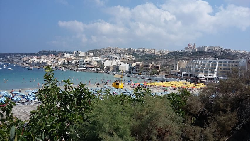 Single Room Inclusive 5 min walk to Mellieha Beach - Il-Mellieħa - อพาร์ทเมนท์