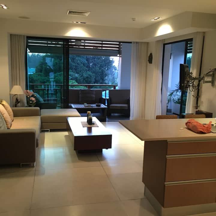 Nice design apartment  2 bedroom Surin Beach/BangT