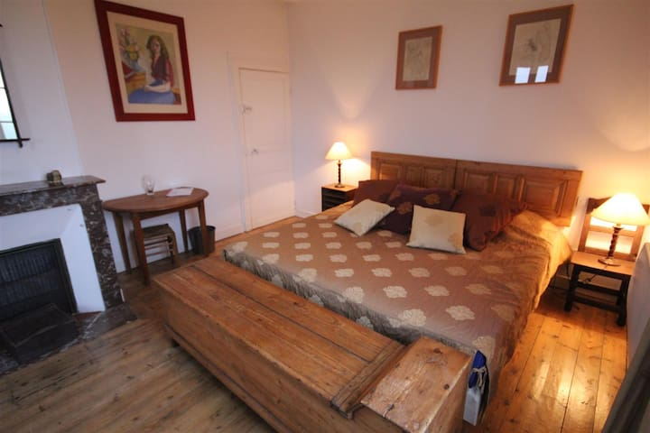 "Chambre ""Beauvoir"" - Saint-Aubin-de-Bonneval - Pension"