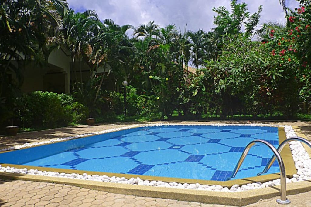 modernisierter Pool