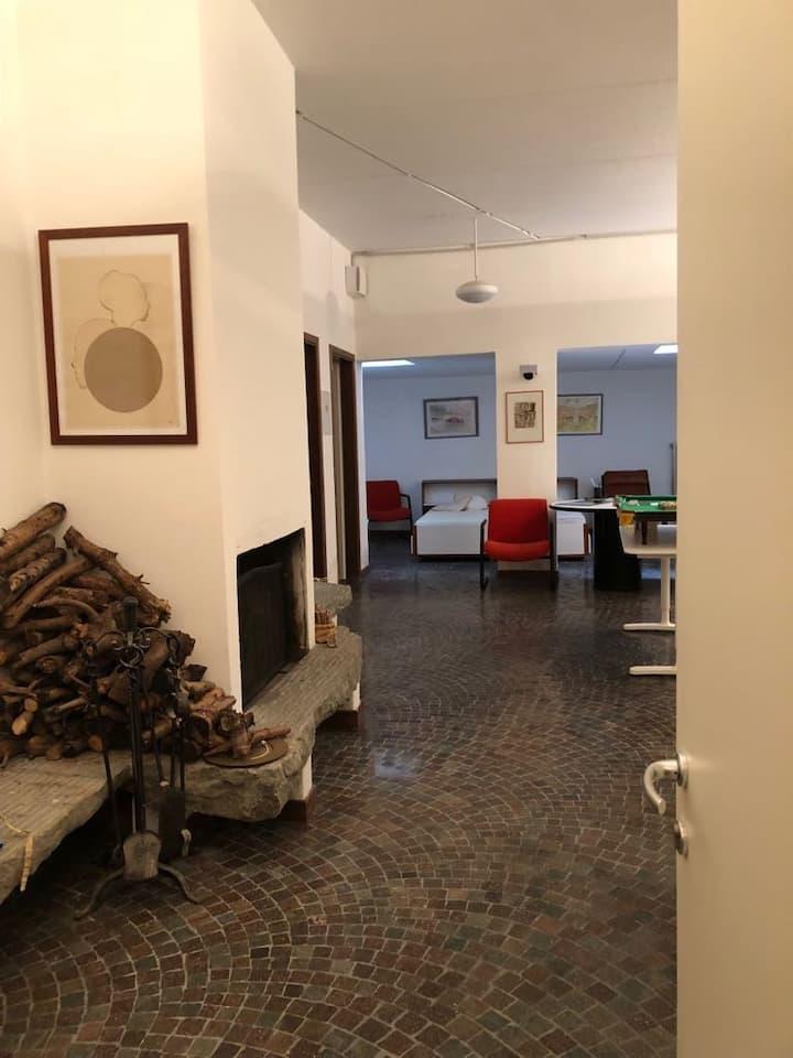 alloggio particolare in collina di Trento 3 letti