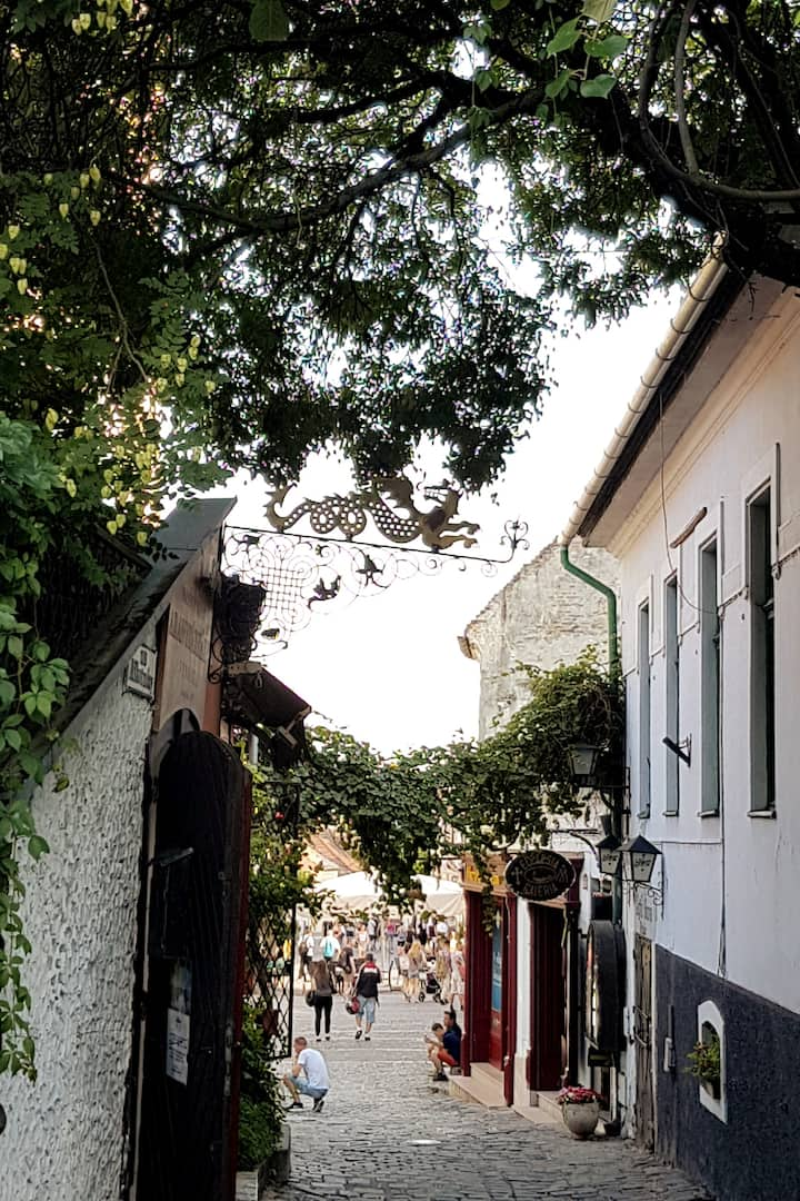 Narrow streets and alleys