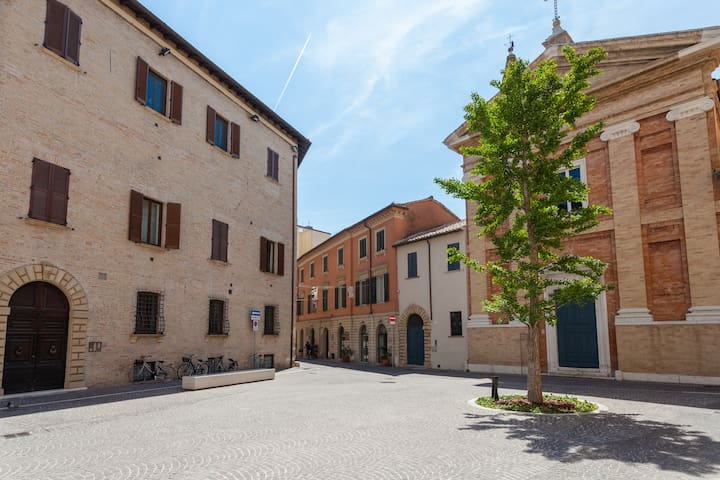 Centro storico-conservatorio: Arte; Mare; Bici