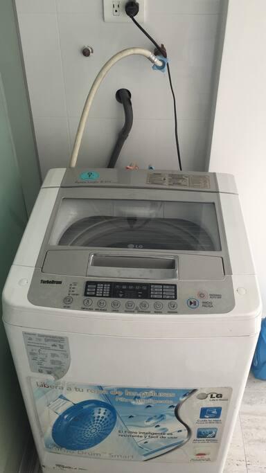 Lavandería espaciosa / amply laundry
