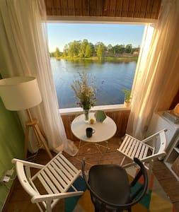 Romantiska vieta īsām brīvdienām uz ezera