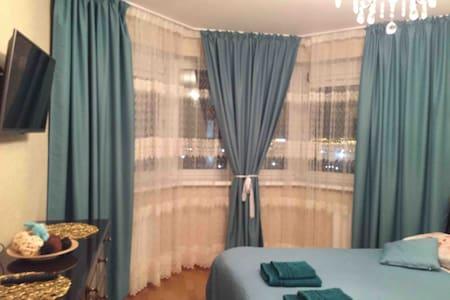 Уютная комфортная видовая квартира на Парнасе