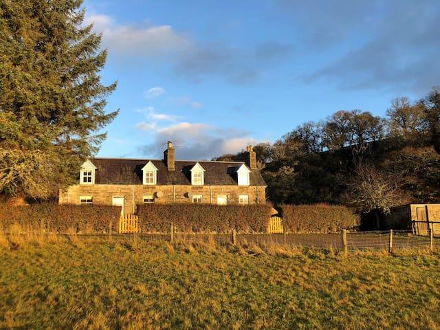 Burnside & Jock's Cottage on Blarich Estate