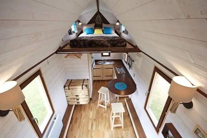 Tiny house en Normandie