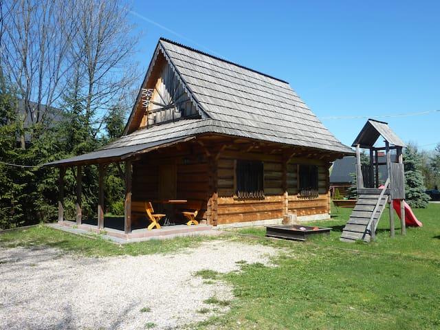 Drewniany domek góralski[1] - Czarny Dunajec - Dom