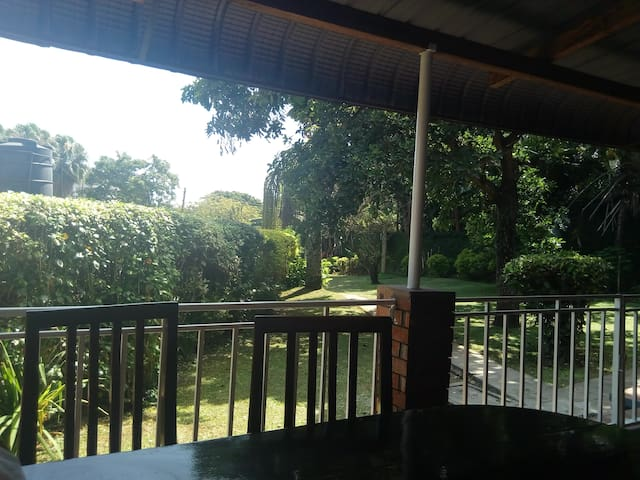 Charming guesthouse with large garden kololo