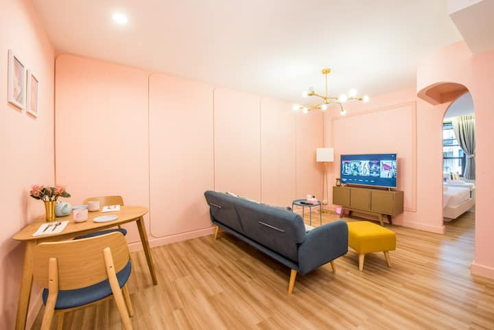 N31 ☆1 BD w/ 2 toilet☆ upto 4 ppl (5m walk to BTS)