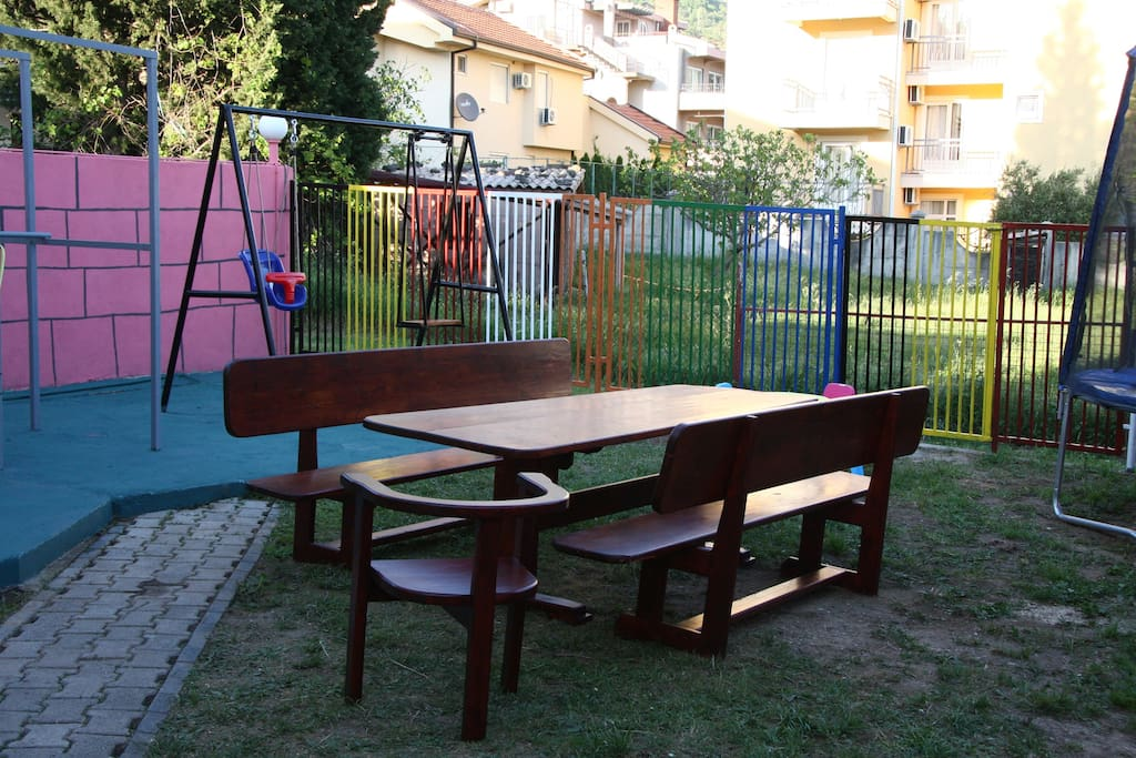 Игровая площадка для детей.