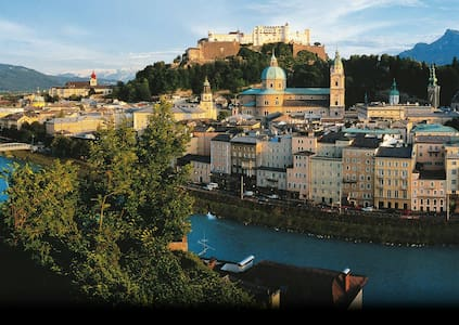 Amazing View, Cozy Center Apartment - Salzburg - Daire