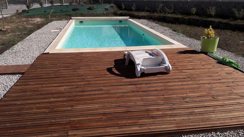 Superbe maison pour 10 pers avec piscine