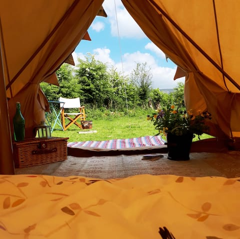 Bell Tent Camping in the Comeragh Mountains