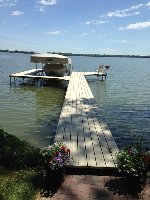 Dock at Cabin