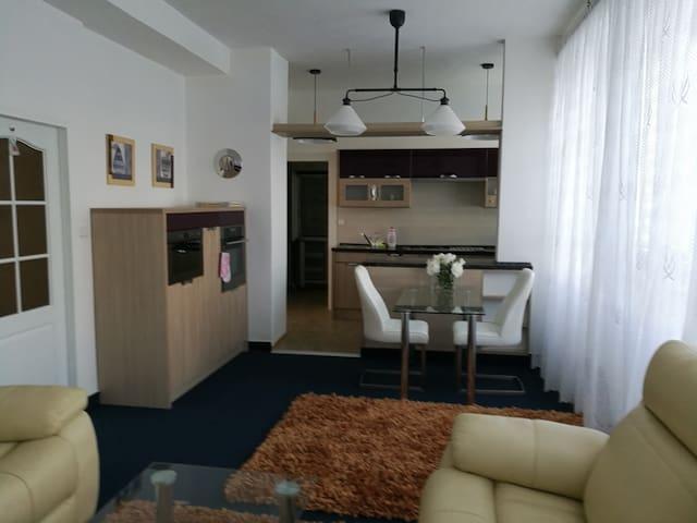 Apartmán vintage v Chomutově
