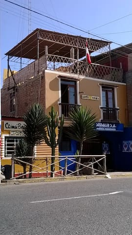 Double Room with private bathroom - Huanchaco - Hus