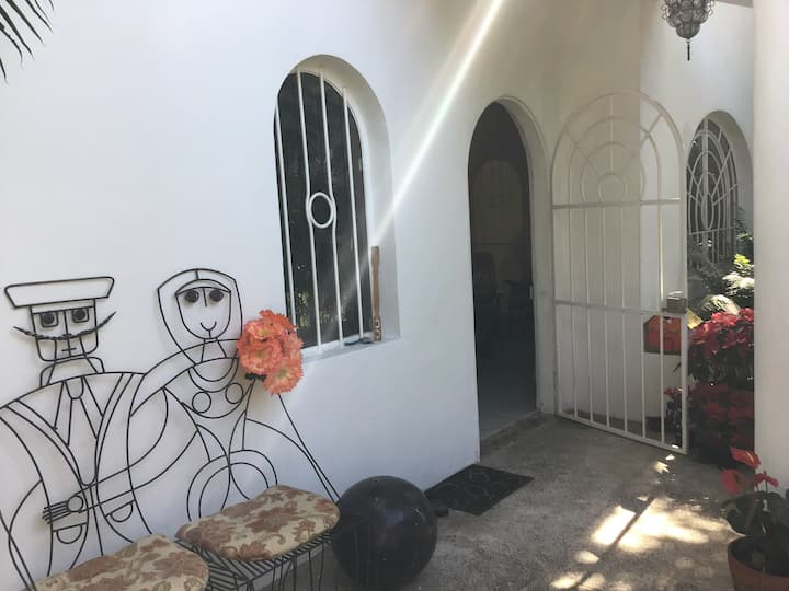 Casa Fresca in an authentic Mexican village