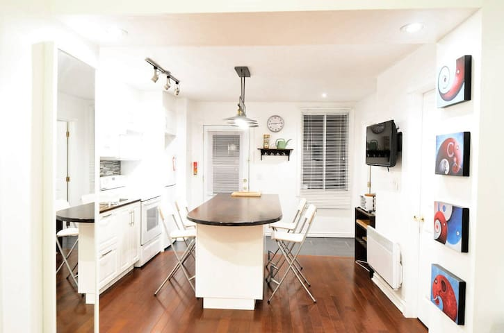 GREAT AND BRIGHT APARTMENT - MILE END LAURIER