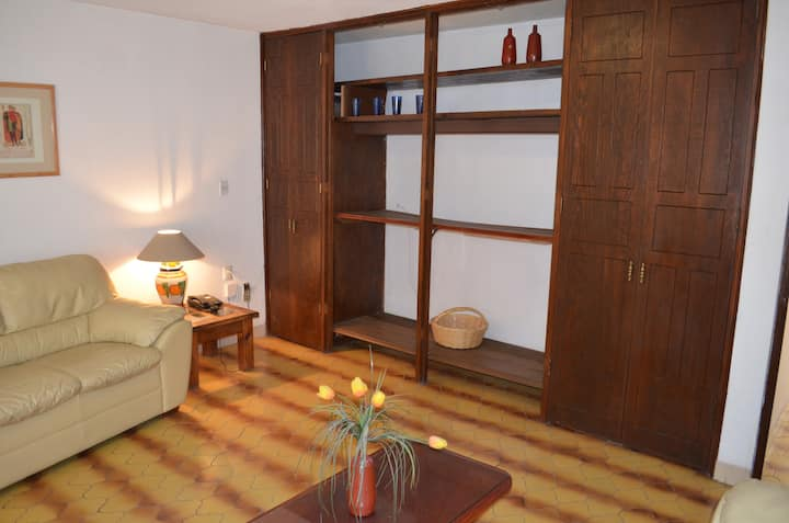 Well furnished & decorated two bedroom apartment.