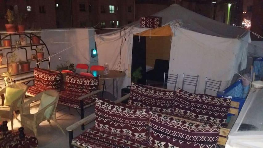 Aladdin's Shared tent #2