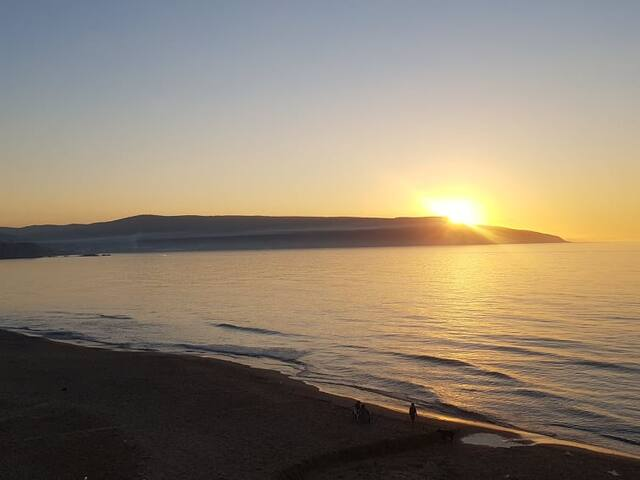 Sunshine, villa vue sur mer.