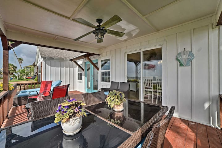 NEW! Tastefully Appointed Beachfront Rockport Home
