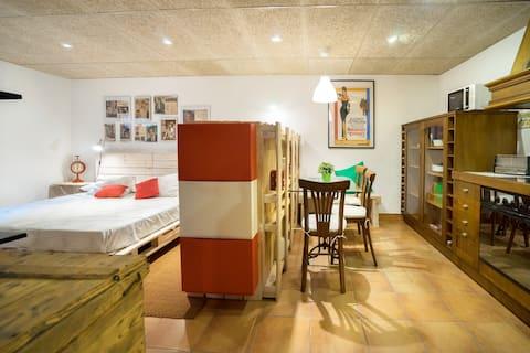 """Loft accueillant près de Girona """"Casa de l'Imma"""""""