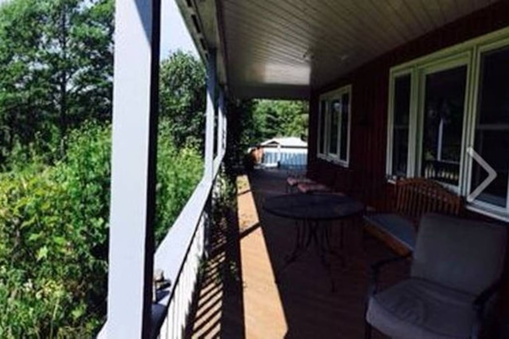 wraparound front porch