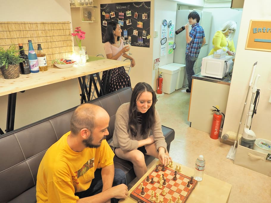 Sharing space - enjoy with tenants