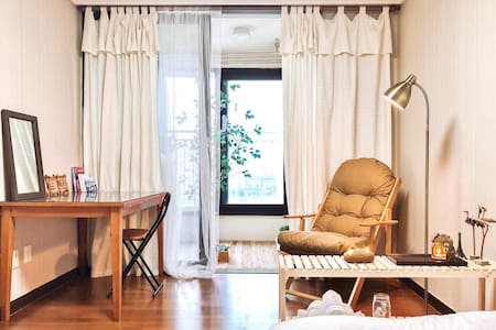 Korean modern vintage Room & Balcony _ Neat n Cozy