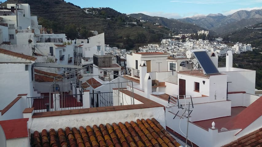Townhouse within the village of Torrox Pueblo