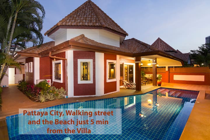 Villa  Sabai pool, 5min from beach & walkingstreet - Bang Lamung - Casa de camp