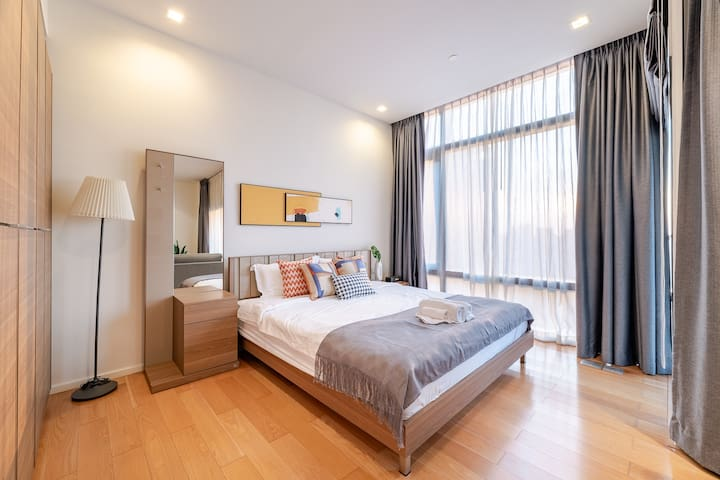 30days-25F Sukhumvit NANA  1BR Suit near BTS MRT