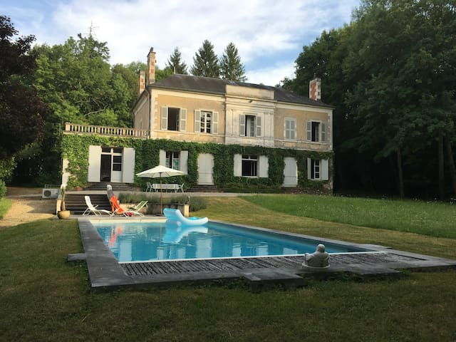 18th century manor near Bourges