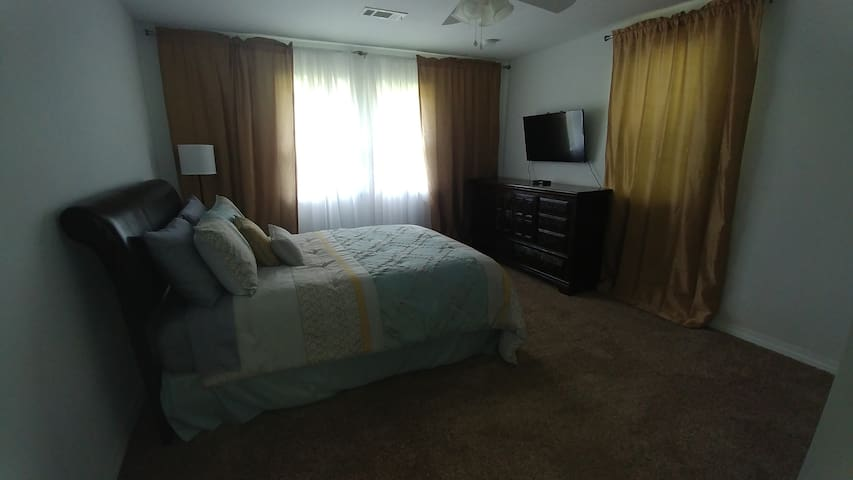 Bedroom #2 includes queen bed and Satellite TV and WIFI