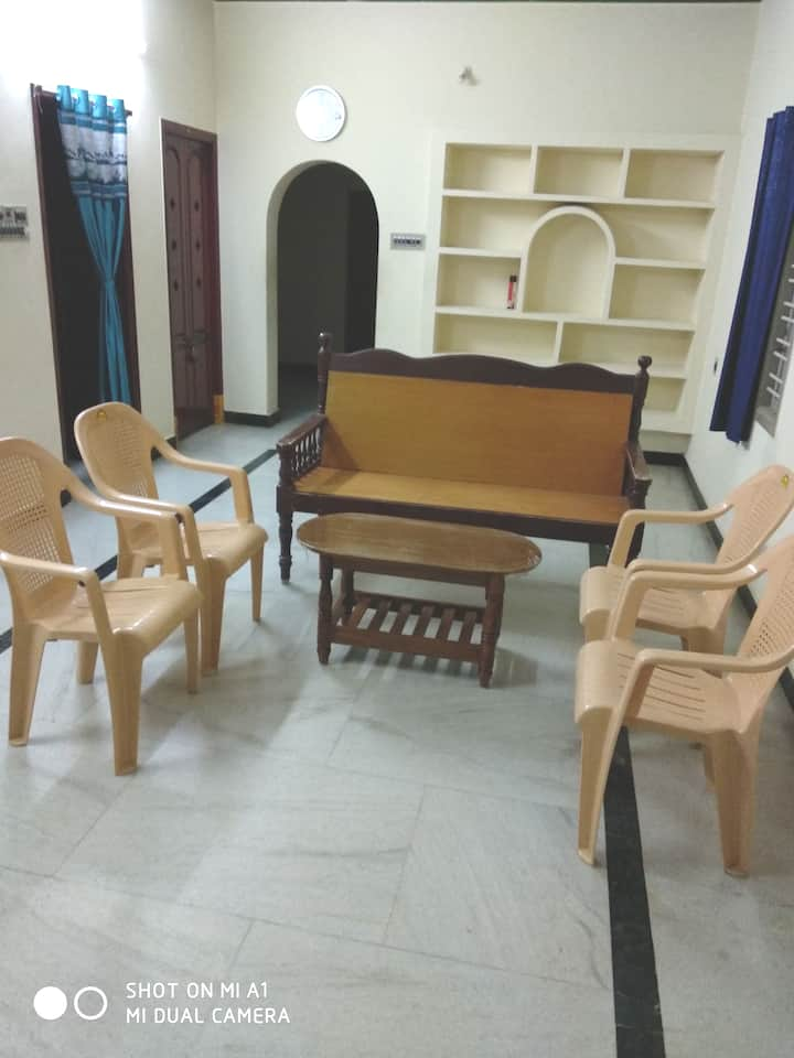 2BHK House- Near ECR&Airport, Lawspet, Pondicherry