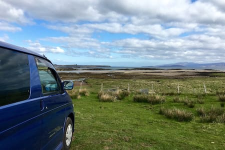 Fun Mazda Bongo Camper Van Adventure in Midlothian - Dalkeith