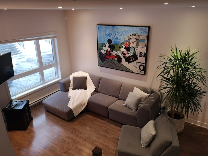 3Bedroom modern home 10 min from Montreal
