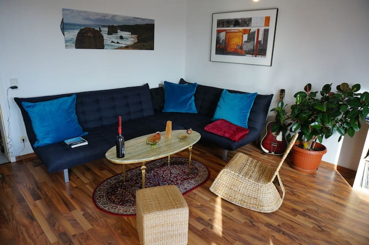 Cozy Apartment with Balocony in Lindenau - Leipzig - Byt