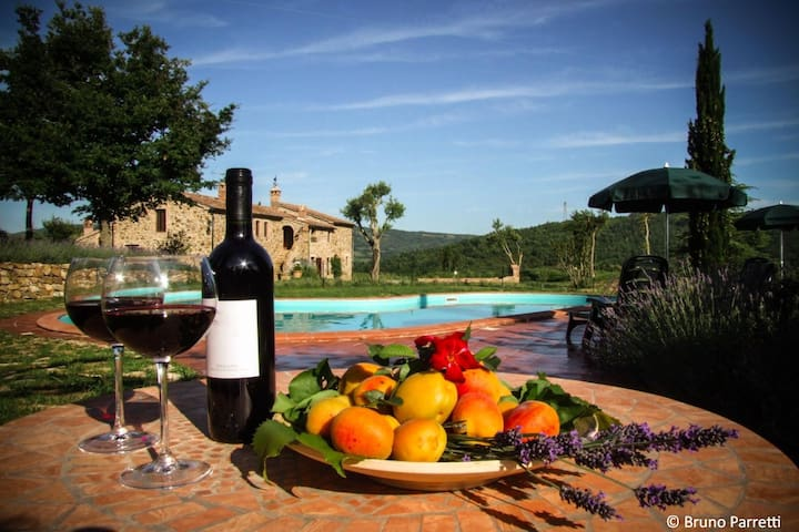 Relax nelle verdi colline toscane - Monterotondo marittimo - Apartemen